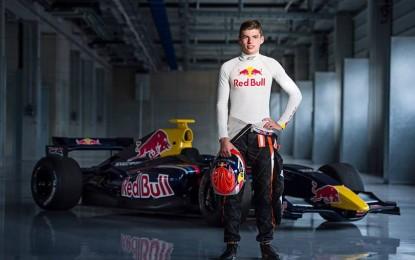 Max Verstappen con la Toro Rosso nel 2015