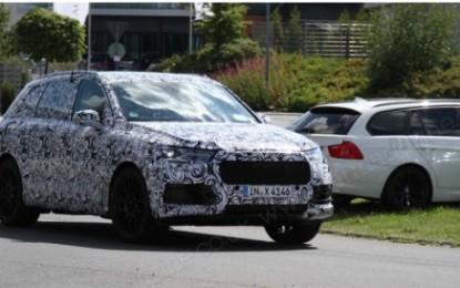 """Audi Q7 e Q8 """"spy"""""""