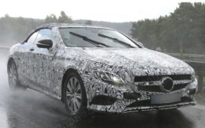 "Nuova Mercedes Classe S Cabriolet ""spy"""