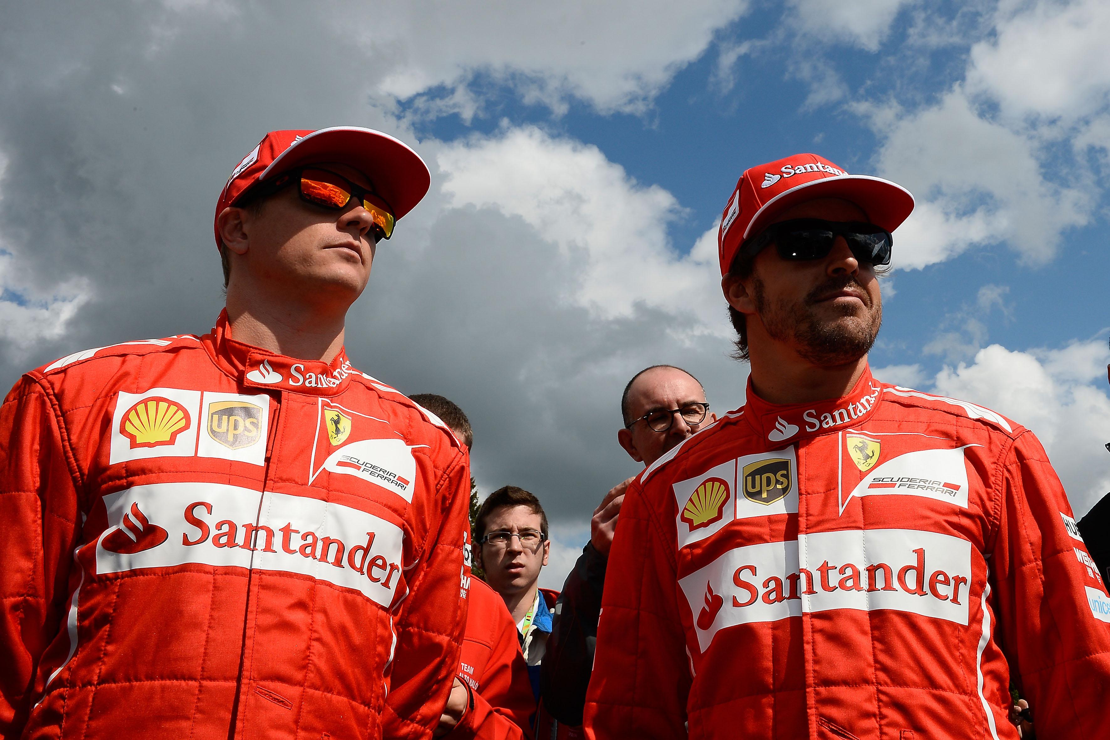 Alonso e Raikkonen alla vigilia di Spa