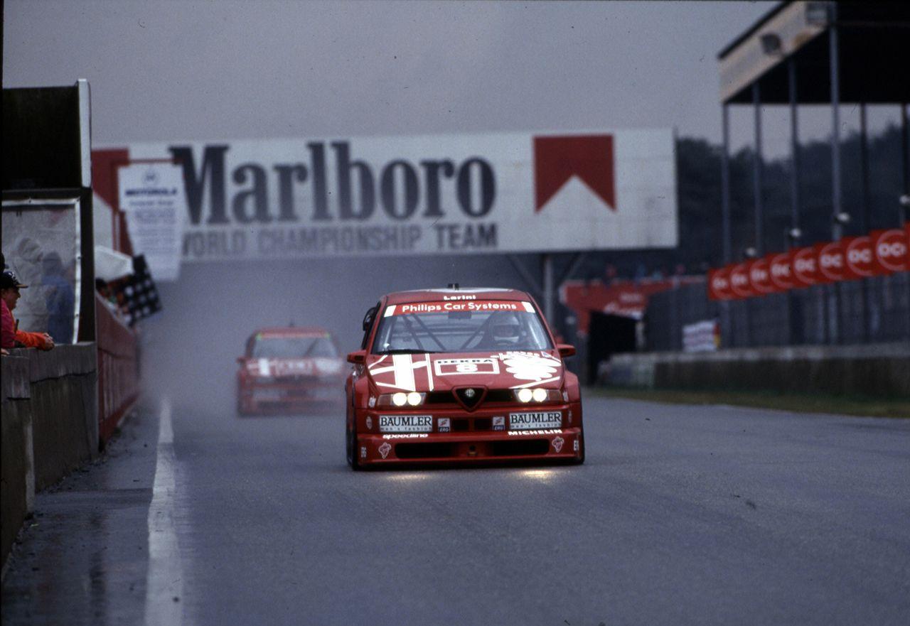 Alfa Romeo 155 V6 Ti DTM protagonista a Zandvoort