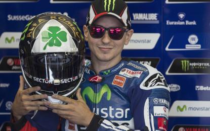 Secondo casco speciale per Jorge Lorenzo