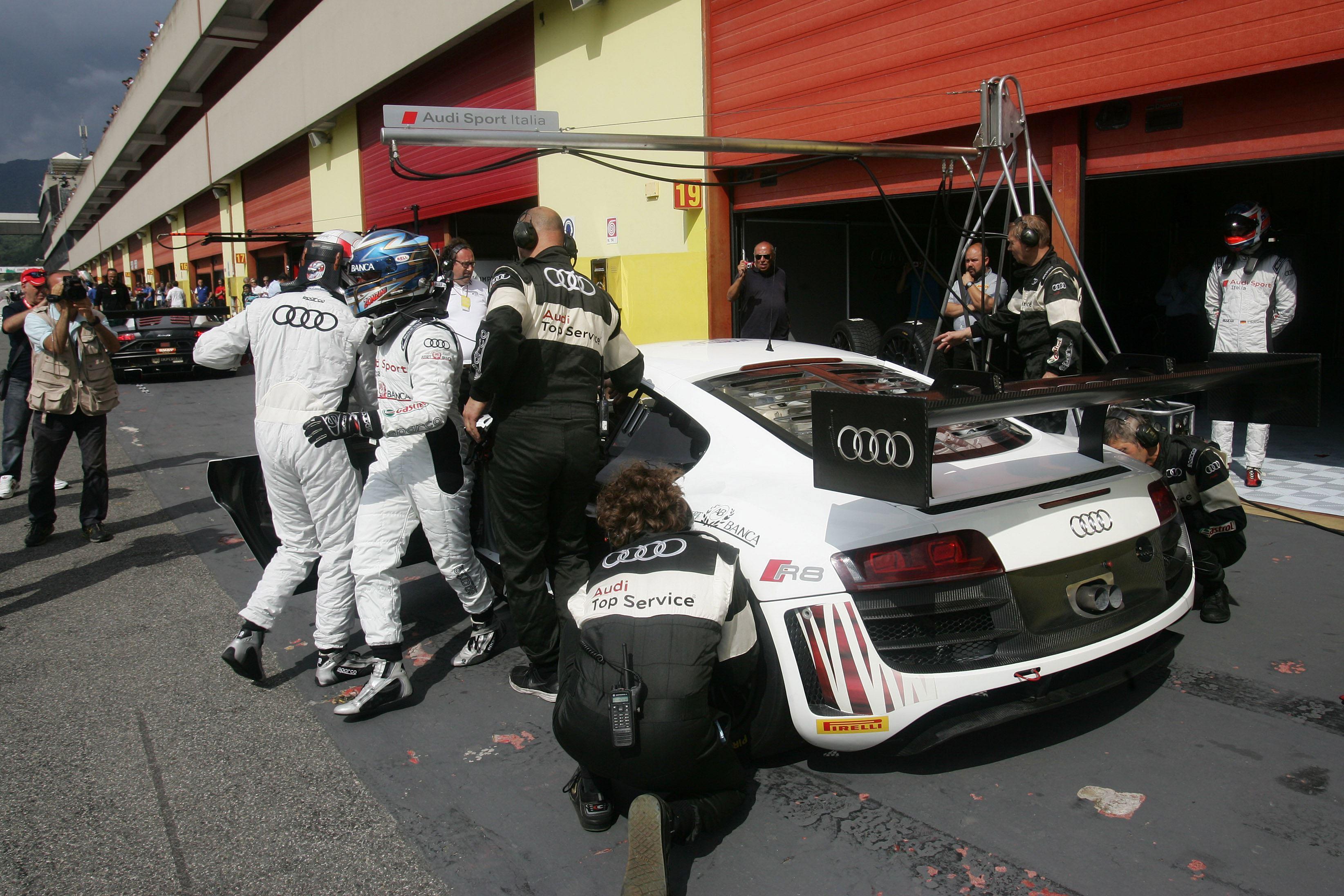 Zonzini torna in pista nel GT a Le Castellet