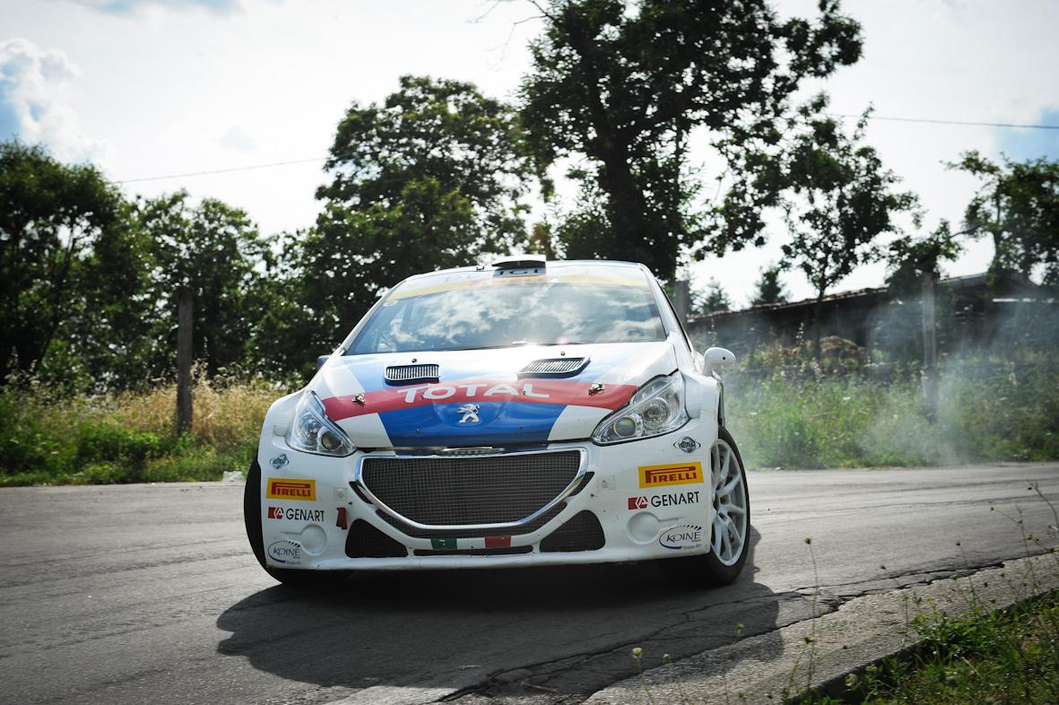 Peugeot, un giorno da tester ufficiali per Iraldi e Cogo