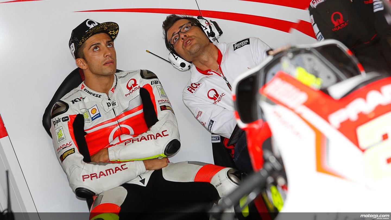 Iannone nel Ducati Team nel 2015