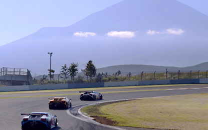 Lamborghini Super Trofeo al Fuji Speedway
