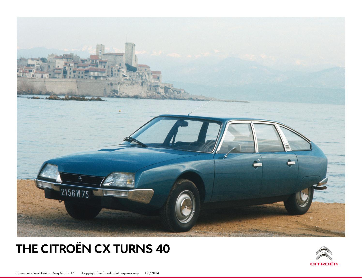 I 40 anni della CITROËN CX