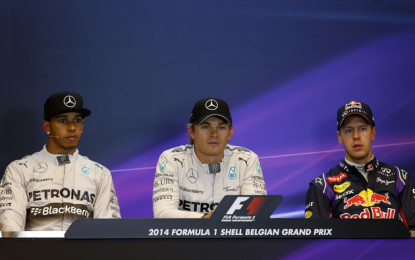 Belgio: conferenza post-qualifiche