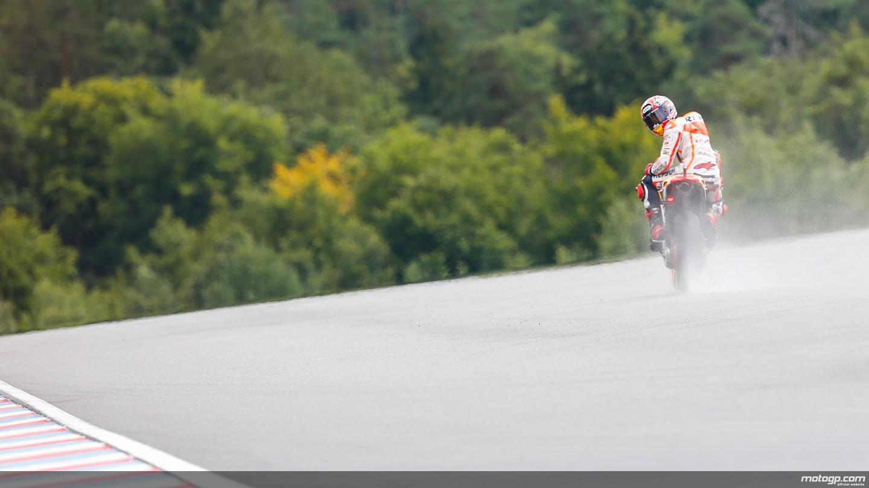 Marquez guarda tutti da lontano anche a Brno