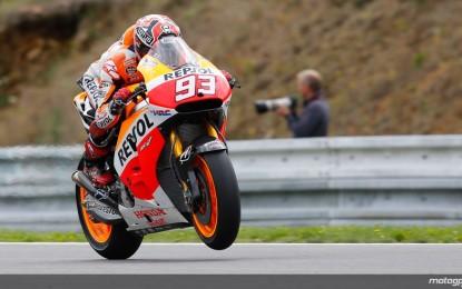 Brno: pole di Marquez. E le due Ducati in prima fila!