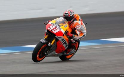 Indianapolis: Marquez ipoteca la pole, Iannone 2°