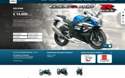 Suzuki Italia Moto: nuovo sito