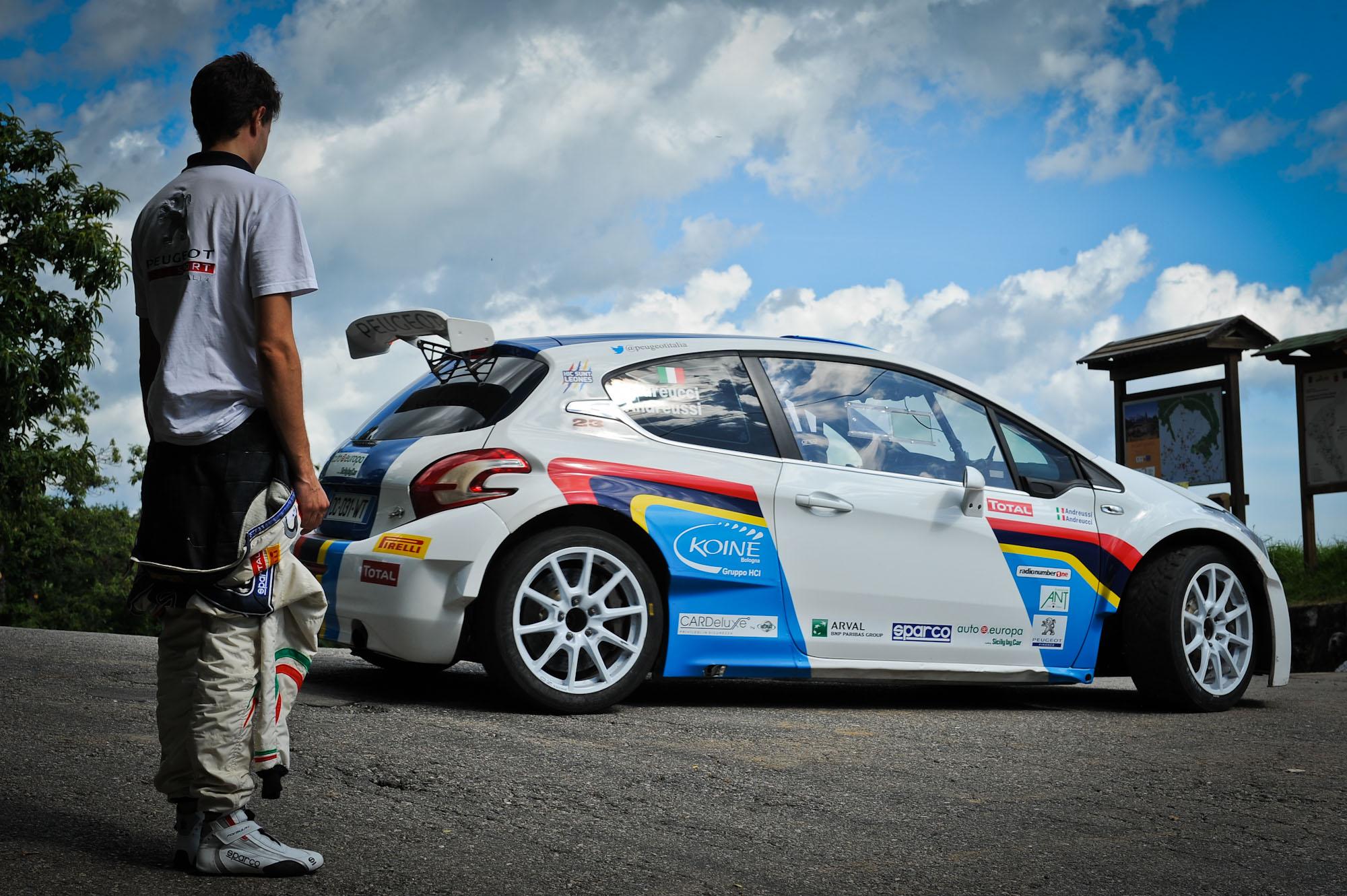 Peugeot: test per Albertini sulla 208 T16 ufficiale