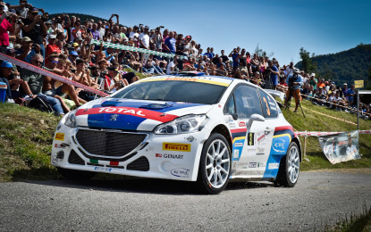 Il Rally del Friuli si tinge dei colori Peugeot