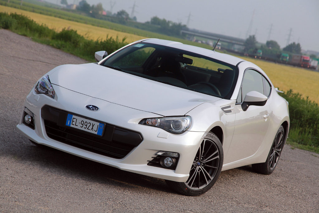 Subaru BRZ premiata con il TOP SAFETY PICK 2014