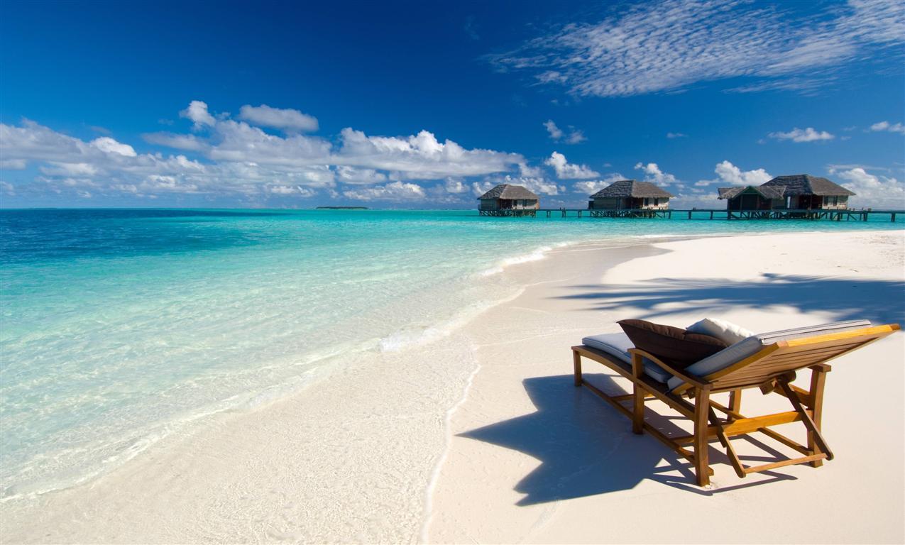 Dovete ancora partire? Perché non le Maldive?