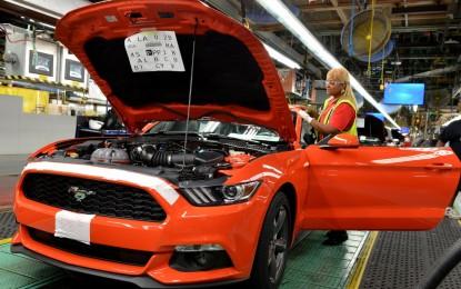 Ford dà il via alla produzione della nuova Mustang