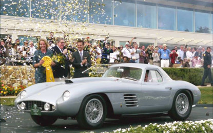 "375 MM Scaglietti Coupé ""Best of Show"" a Pebble Beach"