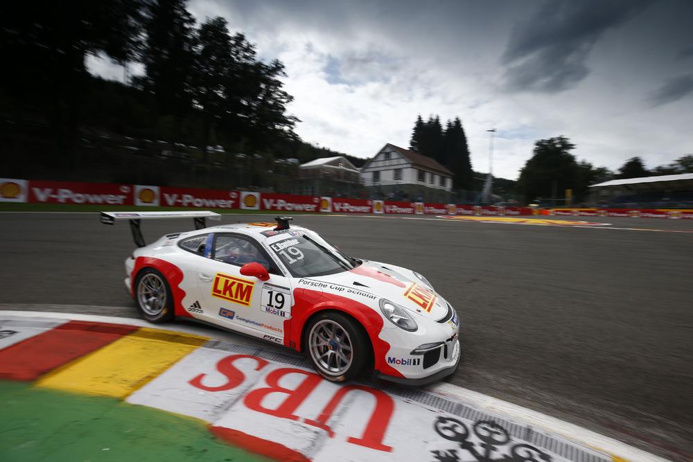 Porsche Supercup: prima pole per Earl Bamber