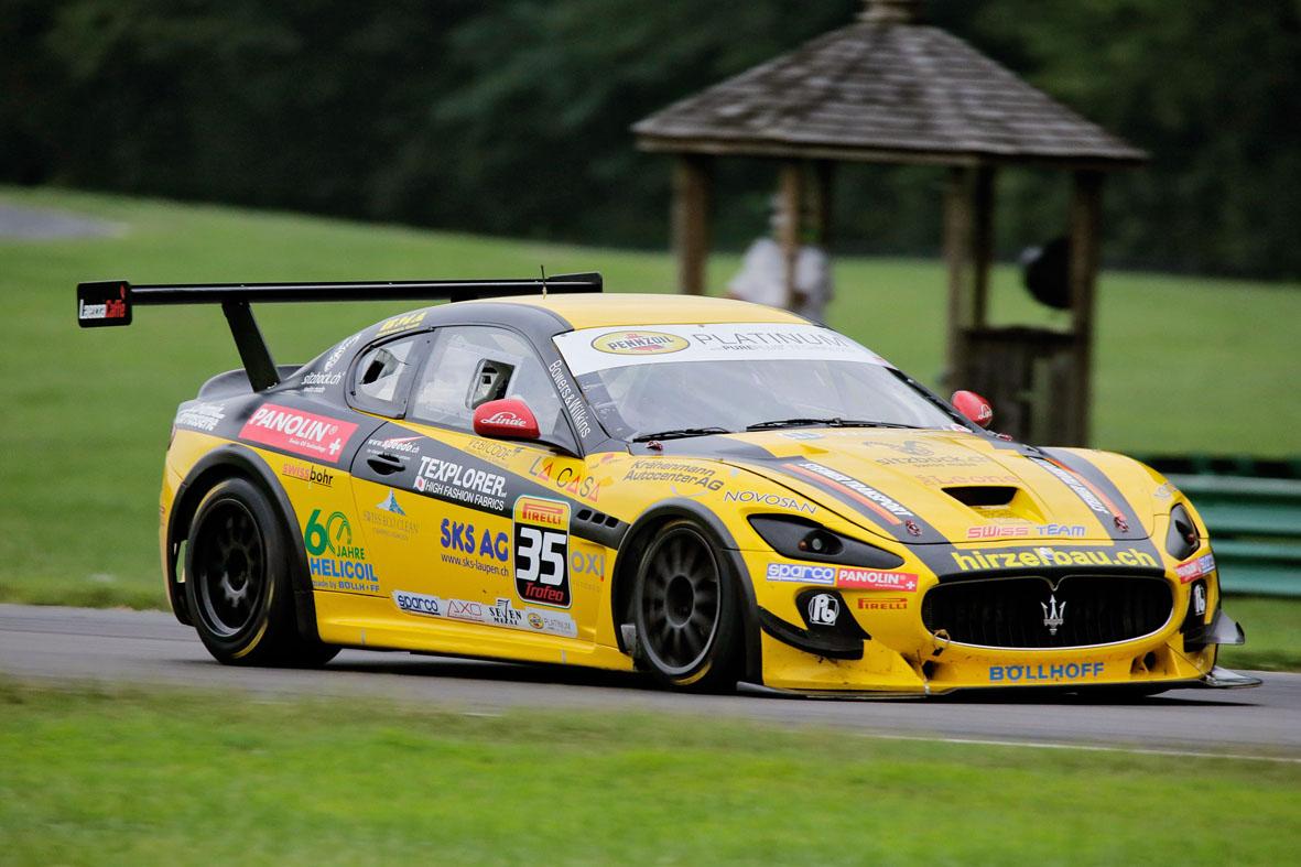 Maserati: Calamia il più veloce nelle qualifiche in Virginia