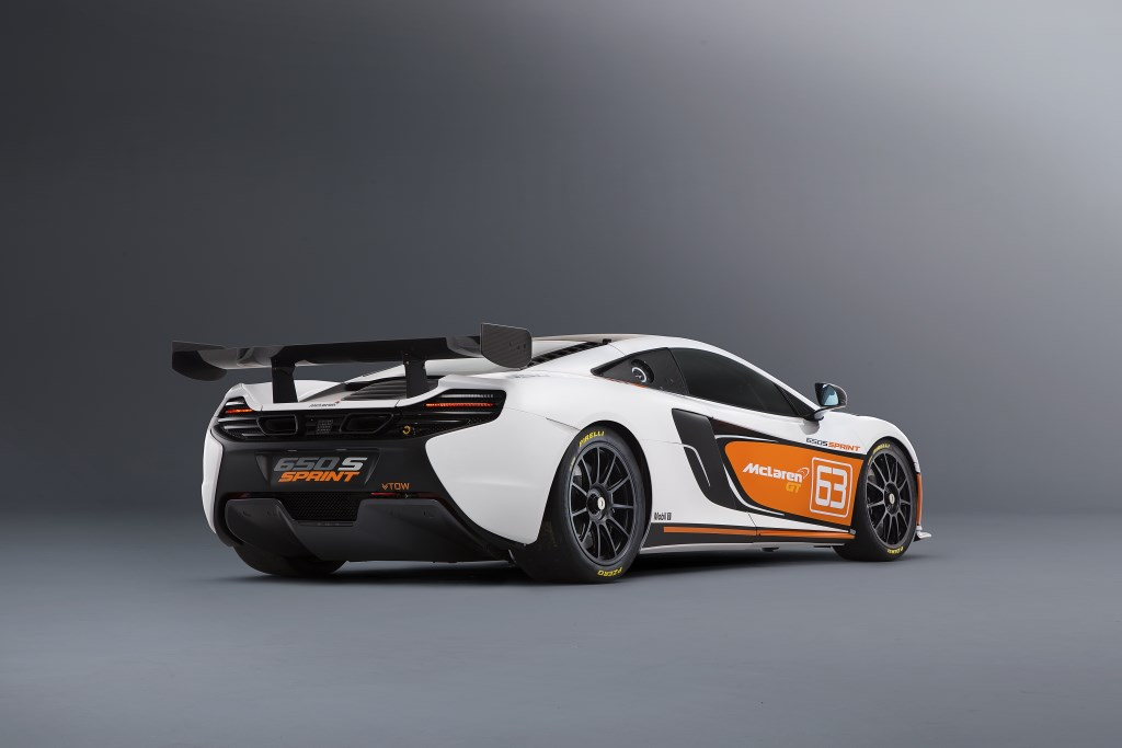 McLaren 650S Sprint competizione: anteprima a Pebble Beach