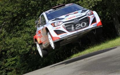 WRC: prima vittoria (e doppietta) per Hyundai