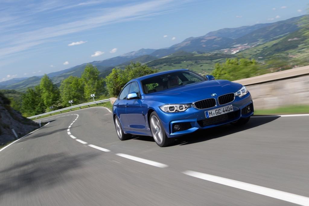 BMW M3 berlina, M4 Coupé, Serie 4 Gran Coupé