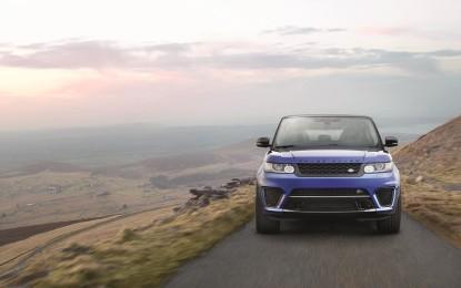 Nuova Range Rover Sport SVR al debutto