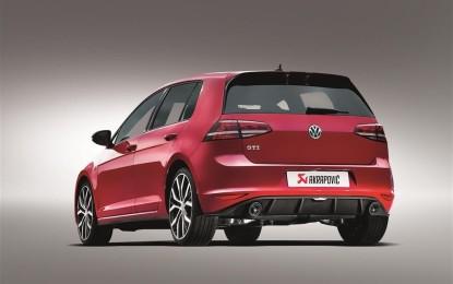 Scarico Akrapovic in titanio per VW Golf GTI VII