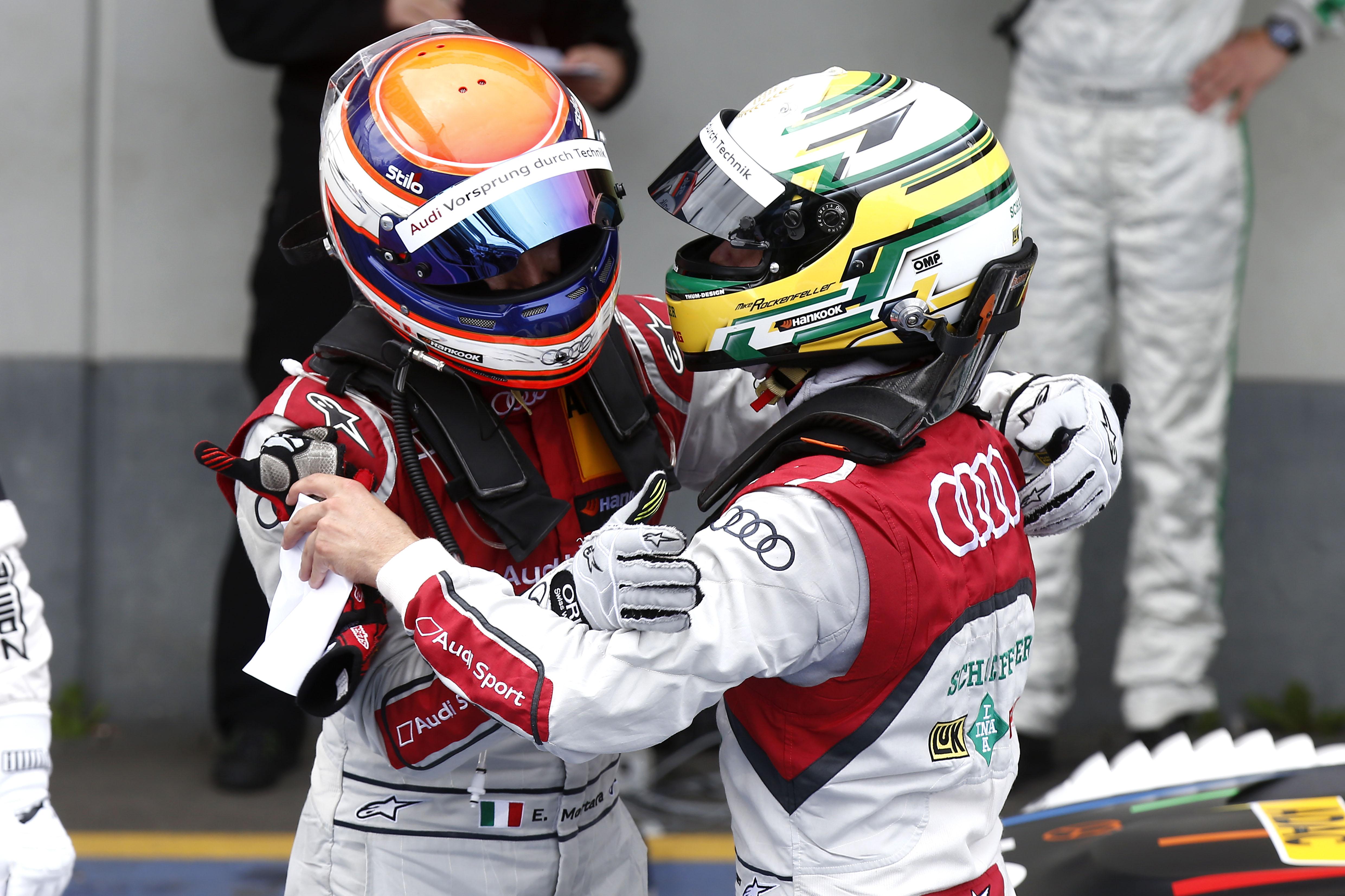 DTM: doppio podio per Audi al Nurburgring