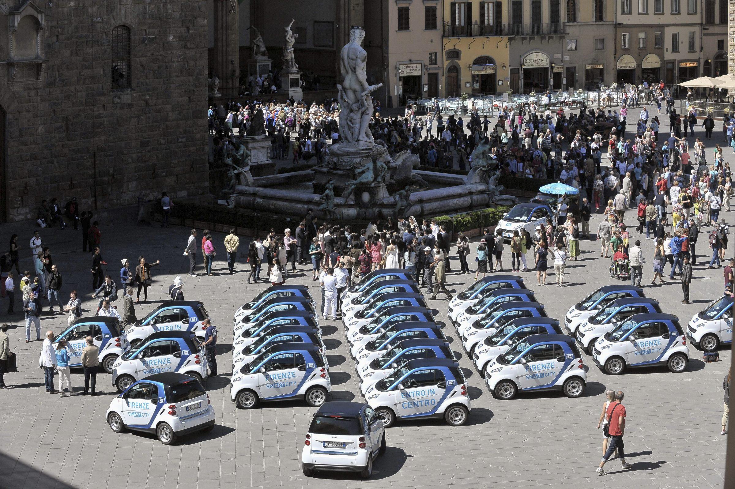 car2go: anche a Firenze accesso alla ZTL