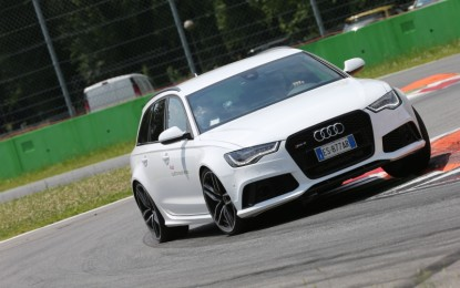 Un lunedì da leoni con Audi Sport Italia