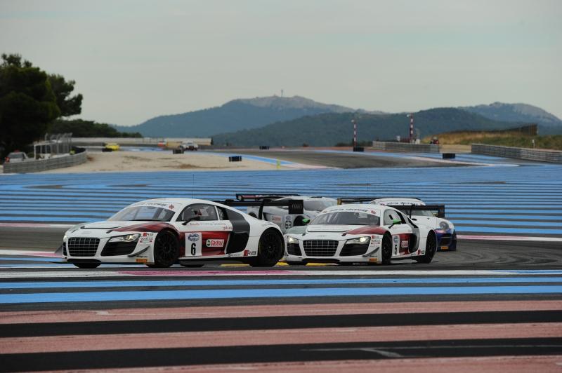 GT: il weekend di Audi Sport Italia al Paul Ricard