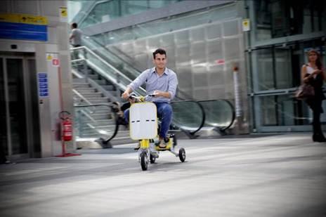 E7-Trike miglior veicolo portatile per la mobilità urbana