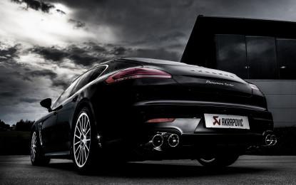 Akrapovič per la nuova Porsche Panamera
