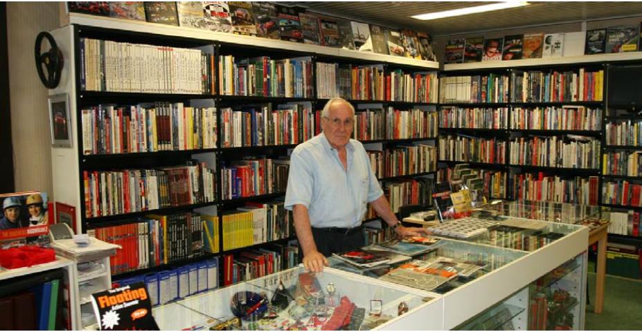 La Libreria dell'Autodromo prosegue la sua attività