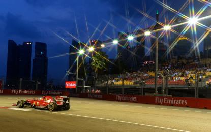 Singapore: il punto sulle libere in casa Ferrari