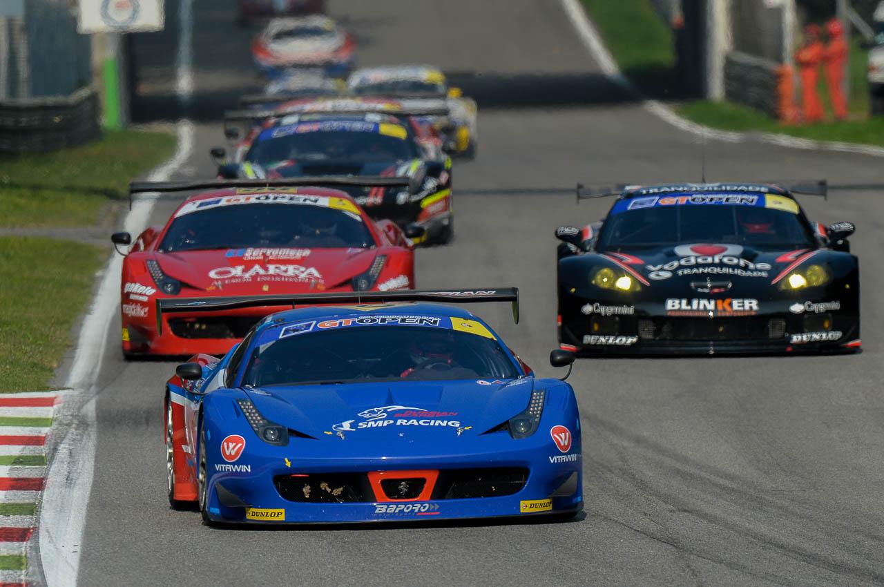 GT Open: tripletta Ferrari nella categoria GTS