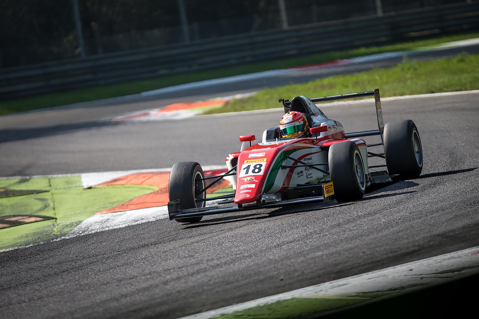 F4: doppio podio per Stroll a Monza