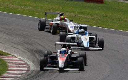 Italian F4 Powered by Abarth a Vallelunga
