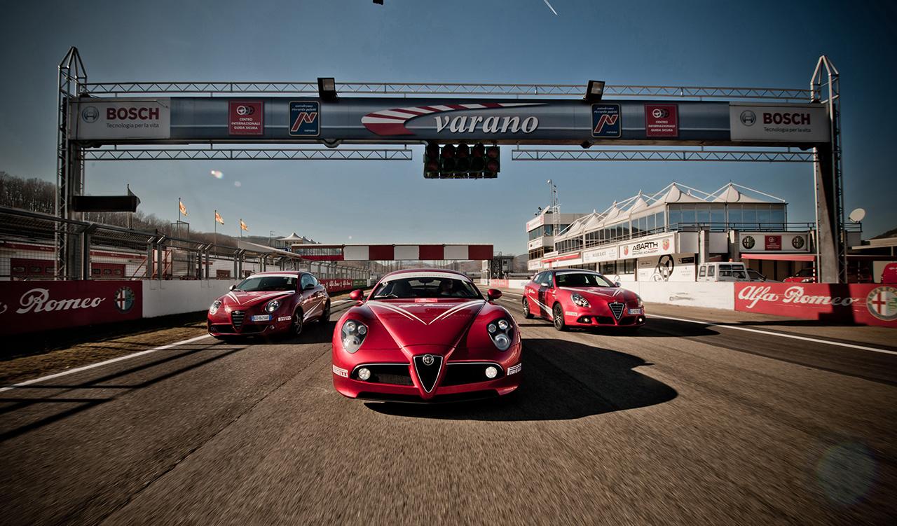 Corso di Guida Evoluta Alfa Romeo: si riprende!