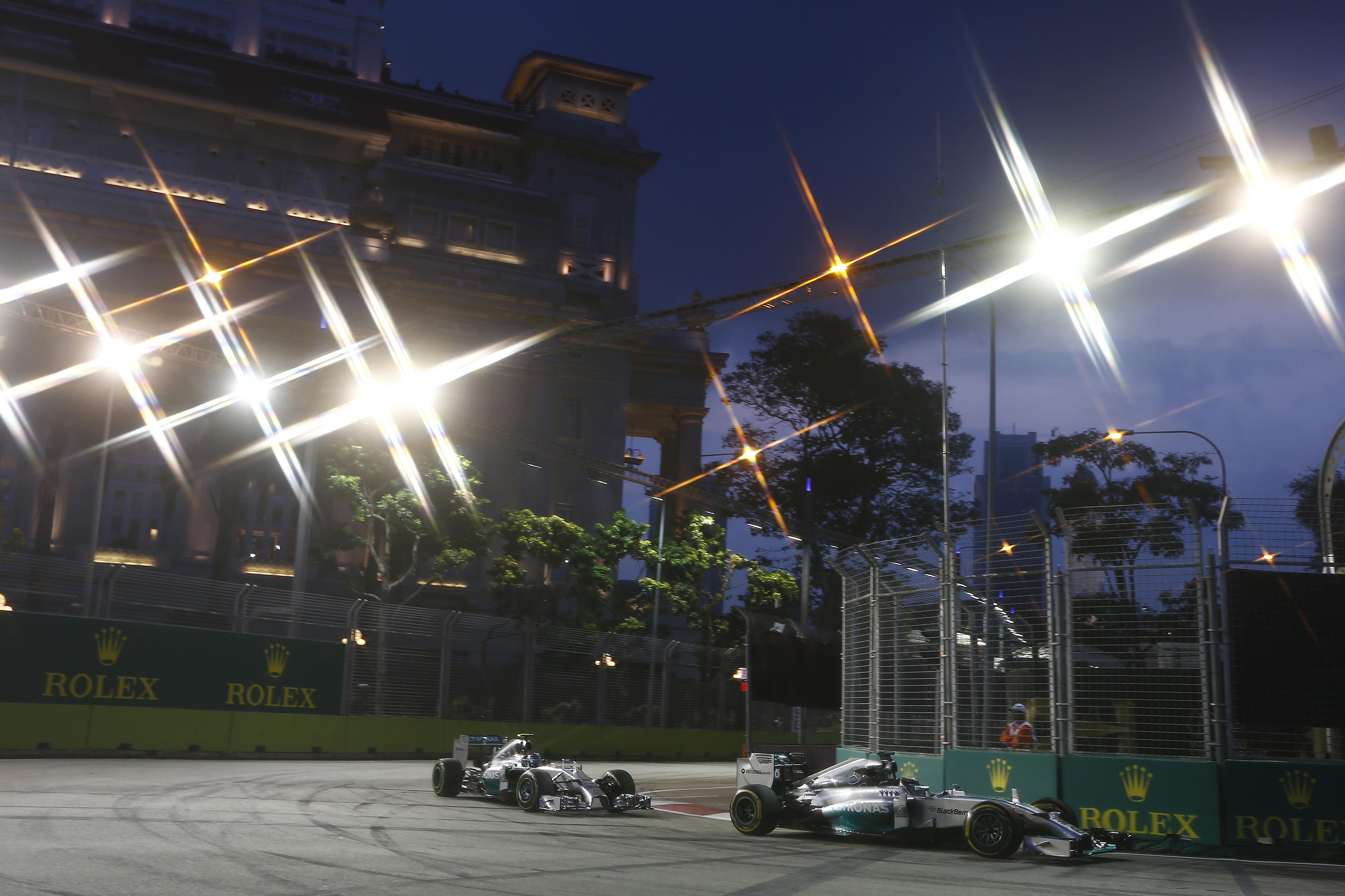 Singapore: Hamilton e Alonso si dividono il venerdì