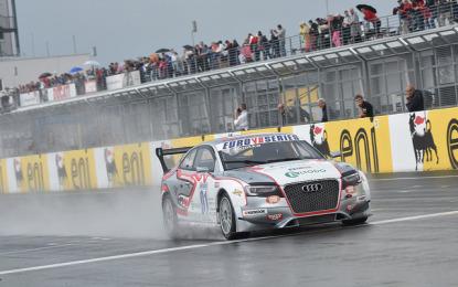 Tripletta Audi Sport Italia. E primo podio per Zonzini