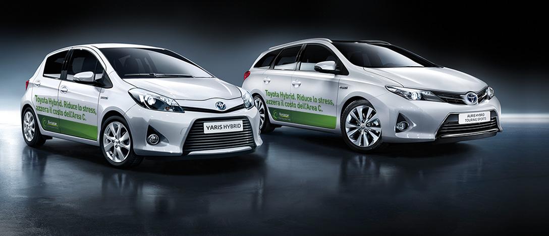 Europcar e i vantaggi dell'ibrido Toyota