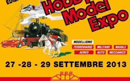 Hobby Model Expo a Novegro dal 26 al 28 settembre