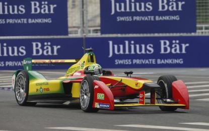 Formula E: vince Di Grassi, dopo il botto Prost-Heidfeld