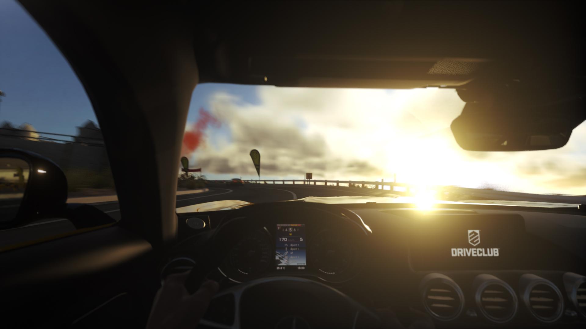 Mercedes-AMG GT nel nuovo DRIVECLUB su PlayStation®4