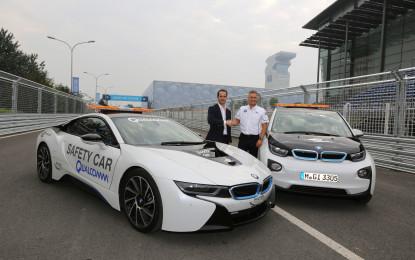 BMW official vehicle partner della Formula E