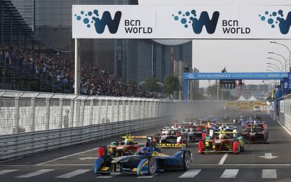 La Formula E elettrizza Pechino!