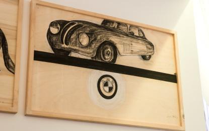 Arte e motori per BMW Roma